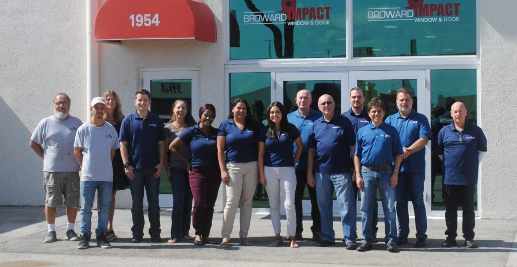 Broward Impact Window & Door Team Picture